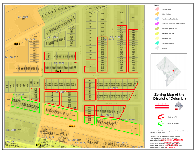ANC 5D Zoning Map